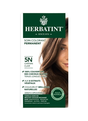Herbatint Herbatint Saç Boyası 5N Chatain Clair - Light Chestnut Renksiz